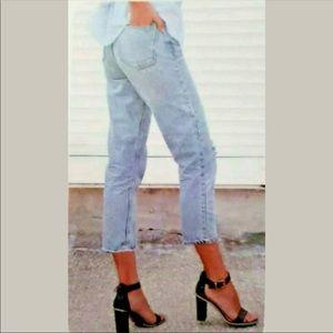 Rewash Charlie crop Jeans